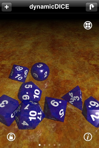 Screenshot dynamicDICE: RPG Dice Simulator